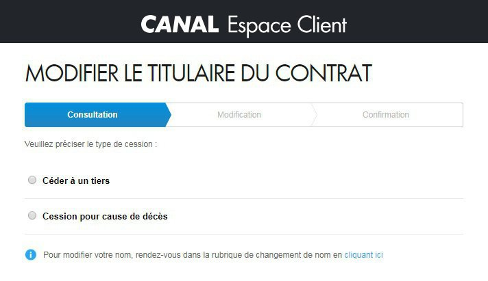 cession contrat CANAL